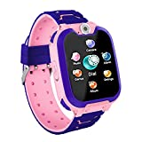 Kids Smartwatch Phone, Games Smart Watch Touch Screen with MP3 Player Music Camera Record Calculator, Gifts for Boys Girls (Include 1GB SD Card)