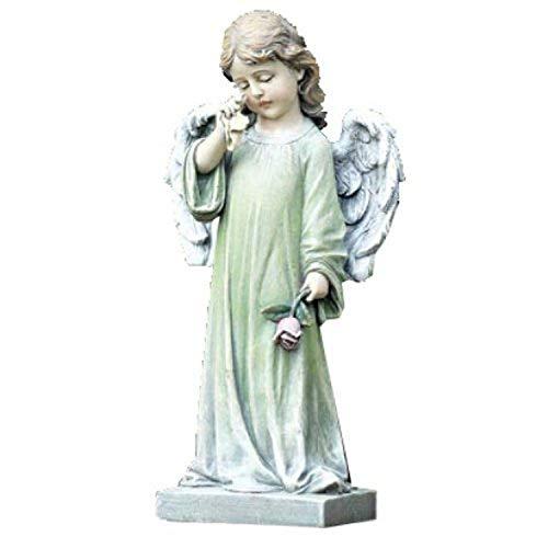 Napco Commemorative Garden Statue, Weeping Angel -  Napco, Inc. - Lawn & Garden, 17344