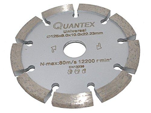 Diamant Frässcheibe Ø 125 mm Segmentstärke 8,0 mm, Fugenfräser für Mauerwerk und Putz