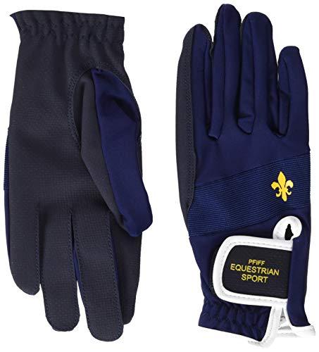 PFIFF Damen 101660 Damenreithandschuhe Handschuhe, Blau, M