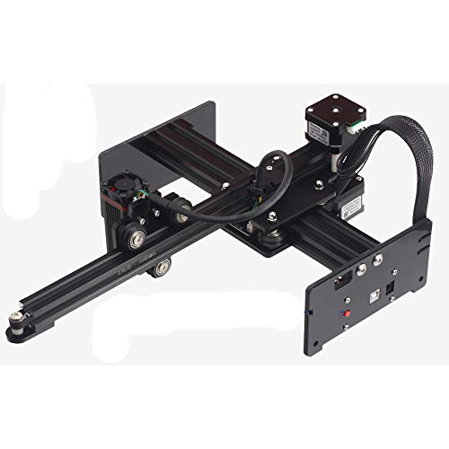 APROTII CNC Engraver, 7W Engraving Machine Tool,Support App Control,Mini Carver DIY Logo Marking Printer for Windows Mac iOS iOS Android