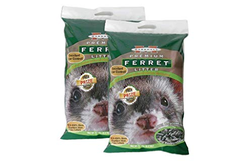 Marshall Premium Ferret Litter Bag 10 lbs - Pack of 2