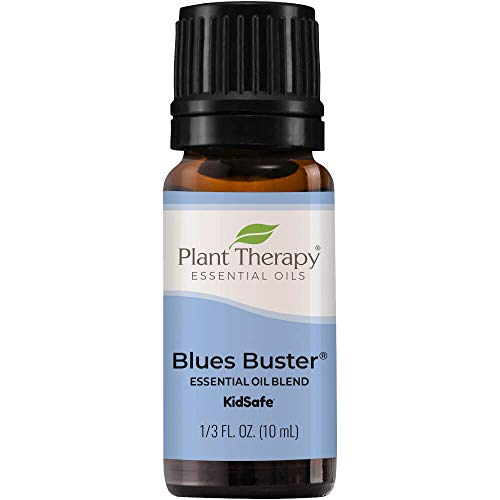 Plant Therapy Blues Buster Essential Oil Blend 10 mL (1/3 oz) 100% Pure, Undiluted, Therapeutic Grade
