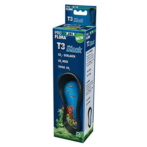 JBL T3-CO2 63463 Spezialschlauch für Aquarien-CO2-Anlagen, Black