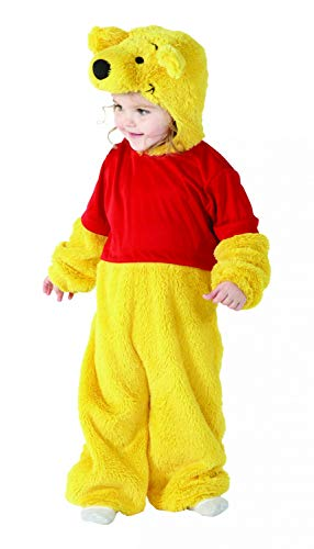 Rubie's-déguisement officiel - Disney- Costume Luxe Fourrure Winnie -Taille INF- I-886960INF