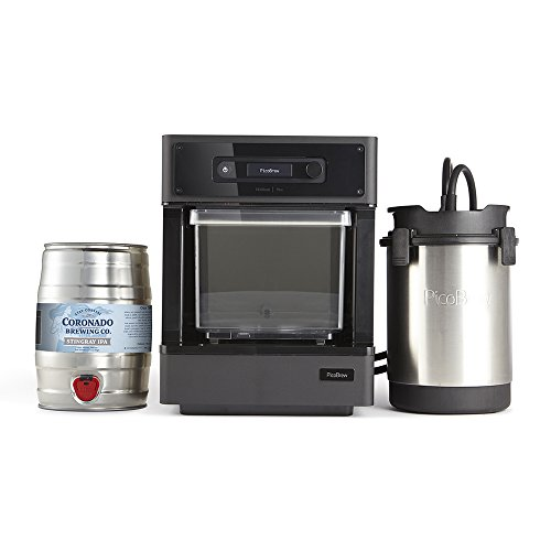 "PicoBrew Pico C Beer Brewing Appliance 14"" x 12"" x 16"" Black"