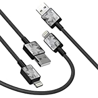 2-Pack iFory 3ft Apple MFi Certified Lightning Cable