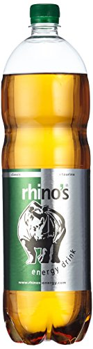 Rhino's Energy Drink Classic, 6er Pack, EINWEG (6 x 1.5 l)