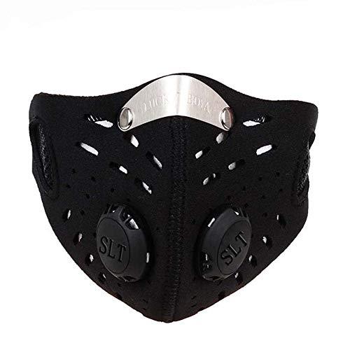 Maske Soft Air Black Cap Netzwerk mit Total Face Airsoft Zubeh/ör
