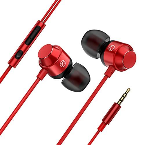 freaky Los Auriculares De Subwoofer Magnético De Metal Son Compatibles con Cualquier Dispositivo con Un Conector De 3,5 Mm. Adecuado para iPhone, Android, Reproductores De Mp3, Etc.