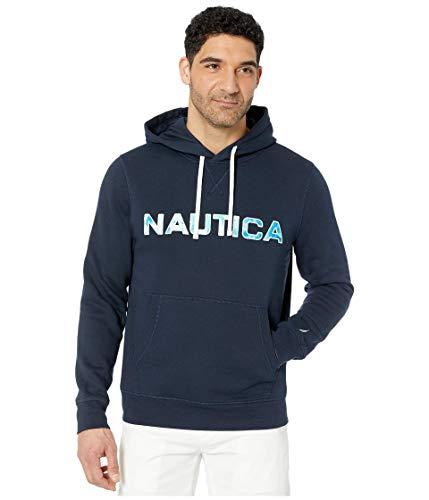 Nautica Long Sleeve Hoodie Top Blue 2XL