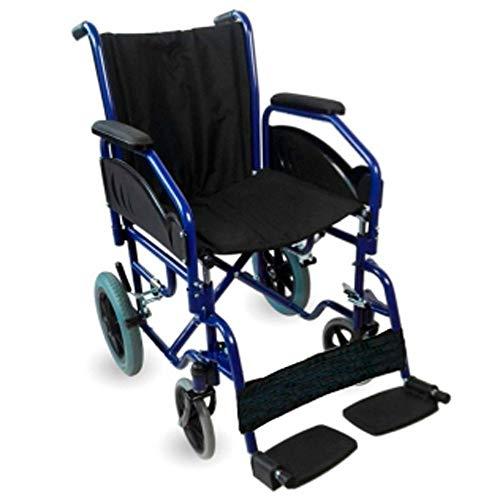 Mobiclinic, Modell Maestranza, Rollstuhl, Faltrollstuhl, Leichter Rollstuhl, Transit-Rollstuhl,...