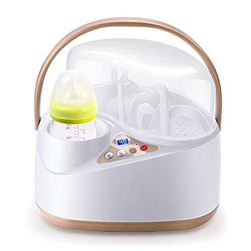 ACC Calentador de biberones y esterilizador de Vapor, Calentador de Alimentos para bebés Leche...