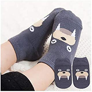 Lovely Socks Children Cotton Mesh Boats Socks Kids Spring and Autumn Short Tube Ship Socks(Grey) Newborn Sock (Color : Grey)