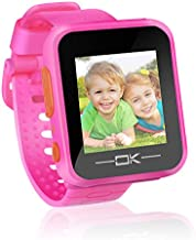 Toys for 3-8 Year Old Girls Pussan Kids Smart Watch for Kids Girls Toddler Watch with Camera USB Charging Christmas Birthday Gifts for Kids Digital Game Watches for Girl Toys Watch Age 3-8 Pink