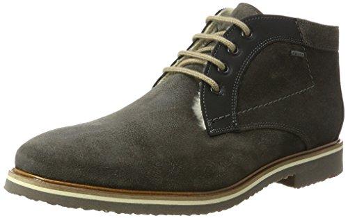 LLOYD Herren VARUS Gore-Tex Desert Boots, Grau (Lava/Schwarz), 44 EU