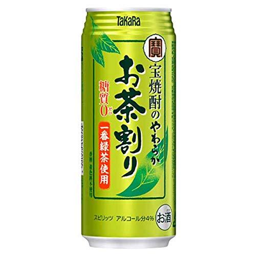 宝 チューハイ 焼酎のやわらか お茶割り 480ml 24本 1ケース