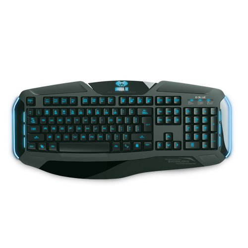 E-Blue Cobra Reinforcement-R Backlit Gaming Keyboard (EKM705BKUS-IU)
