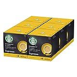 STARBUCKS Blonde Espresso Roast De Nescafe Dolce Gusto Cápsulas De Café De Tostado Suave 6 X Caja De 12Unidades