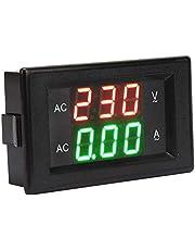 Voltmeter ampèremeter module LED-display AC ampère meter voltmeter hoog nauwkeurige dubbele ampère voltage meter