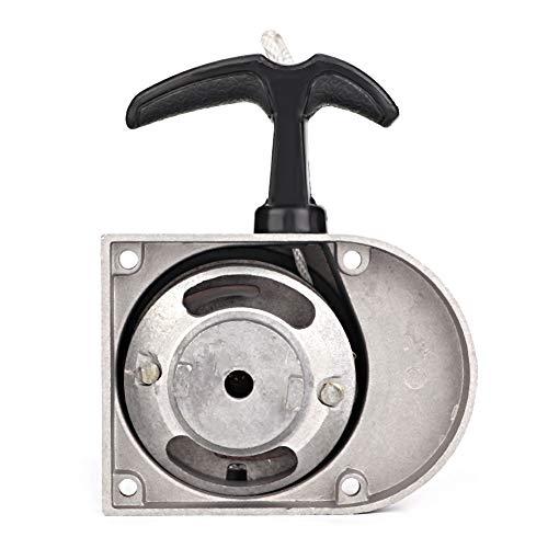 OKBY Pull Start Starter - Leichtmetall Pull Start Starter Kit Passend für 49ccm 50ccm 60ccm 66ccm 70ccm 80ccm Zweitakt-Motorräder