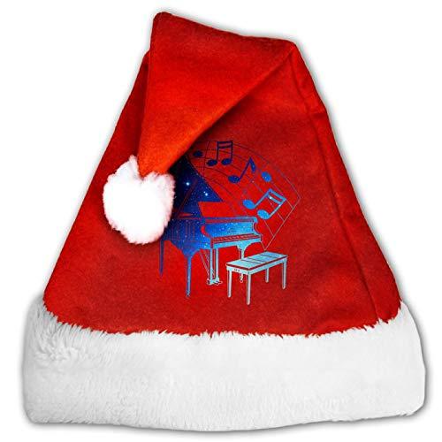Sombrero de Pap Noel unisex con diseo de bandera de Mxico, con forma de corazn, color rojo y blanco