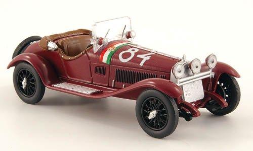 Alfa Romeo 6C 1750 GS, No.84, Mille Miglia, 1930, Modellauto, Fertigmodell, MCW-SC31 1:43