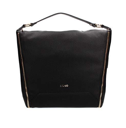 Liu Jo N69125E0027 Shopping Donna Nero PZ