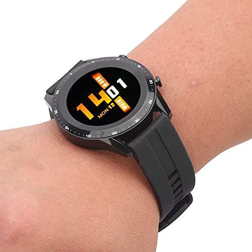 Pulsera Bluetooth, Reloj rastreador Deportivo al Aire Libre portátil Conveniente para Deportes para Uso Profesional para Uso General para Uso Diario(Black)