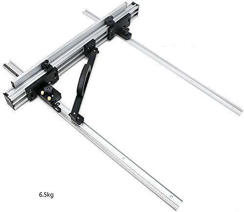 800Mm Tischsäge Fence System Tools Für Holzbearbeitungs Kreissäge Workbench Tabelle DIY Werkzeug Schnitzen Abgesprochen-Track Mitre Spur Jig Track (1 Set)