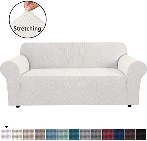 Best Stretch Sofa Covers Couch Cover Furniture Protector Sofa Slipcover 1-Piece Feature High Spandex Text