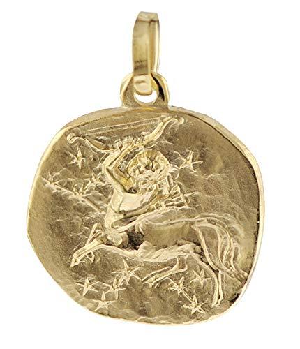 trendor Sternzeichen-Anhänger Schütze 585 Gold 16mm 08969