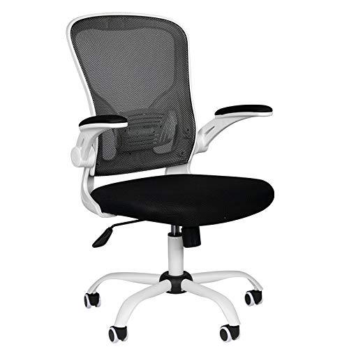 Bürostuhl ergonomisch Gaming Gaming Comfort 73 Weiß - schwarz Gesunde Rückgrat