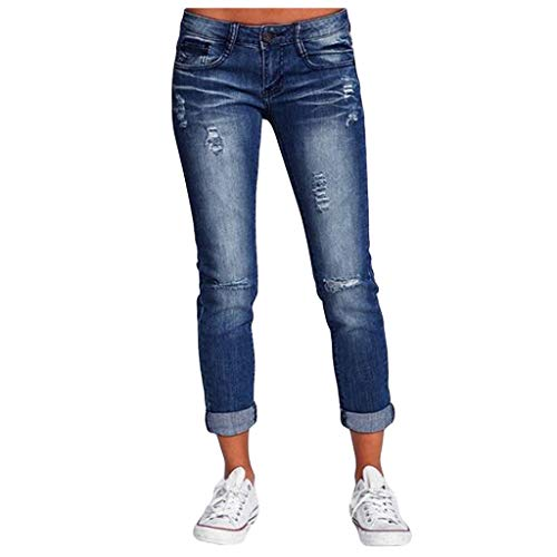 charmsamx Womens Embroidered Flared Jeans High Waisted Bandage Retro Denim Pants 4 Way Stretch Skinny Jeans Slim Fit Bell Bottom Pants Blcak S