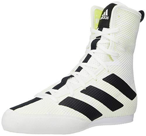 adidas Hog 3 Boxschuh, Weiá (Ftwr White/Core Black/Ftwr Weiß), 34 EU