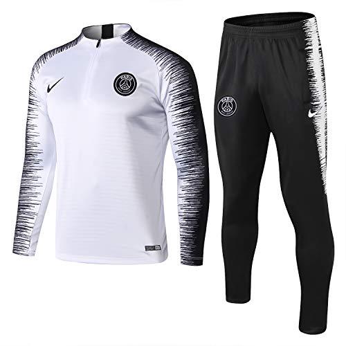 felpa calcio SQUZEA Paris Formazione Squadra di Calcio Vestiti Abbigliamento Sportivo Adulto Calcio Maschile