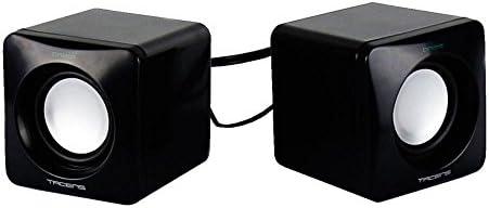 Tacens Anima AS1 - Altavoces para ordenador (8W, sistema de canal 2.0, alimentación por USB, conexión Jack 3.5mm, tamaño...