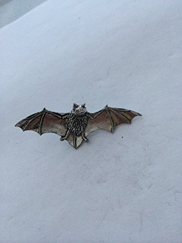 A34 Bat pin badge fine english pewter pin badge with a prideindetails gift package