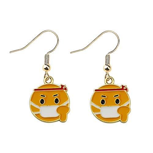 SEIRAA Funny Earrings Humor Social Distancing 2020 Gifts (Mask earrings)