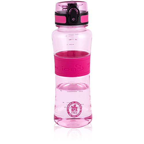 ion8 Ultimate Ionisierend Trinkflasche für Sportler, 550ml, Rosa