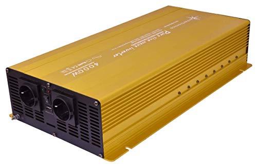 solartronics Spannungswandler 12V 4000/8000 Watt Reiner Sinus Gold Edition NF Serie Inverter Wechselrichter