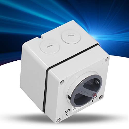 Interruptor de aislamiento, Zócalo de interruptor para exteriores seguro, Interruptor industrial estable Buena conductividad para la fábrica(3P32A)