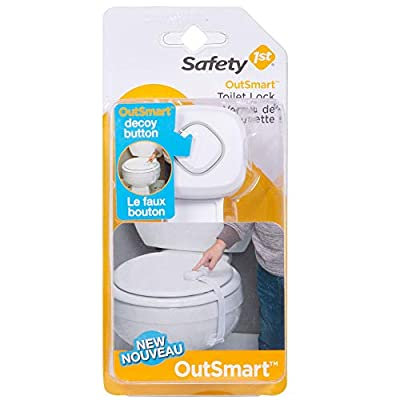 Safety 1st OutSmart Toilet Lock, White from Dorel Juvenile Group-CA