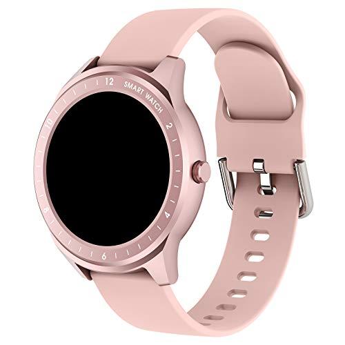 ZXCVBN [Nueva actualización 2021] Reloj Deportivo Inteligente GPS, diales masivos, múltiples Modos Deportivos, detección de frecuencia cardíaca en Tiempo Real, monitoreo del sueño