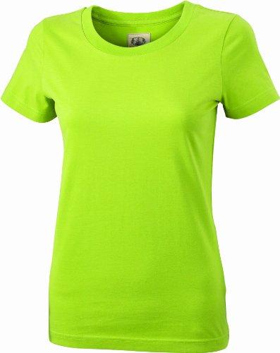 James & Nicholson Damen T-Shirt Ladies\' Vintage XS lime-green