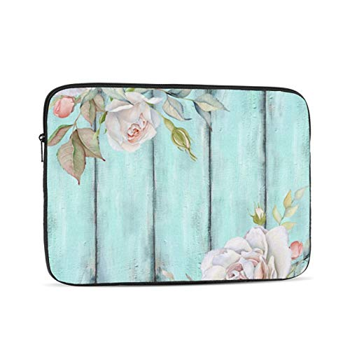 Shabby Country Chic 13 Inch Laptop Sleeve Bag Compatible with 13.3' Old MacBook Air (A1466 A1369) Notebook Computer Protective Case Cover