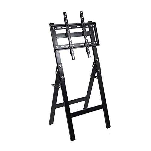 WJJ Soporte TV Pared Soporte TV Pantalla Plegable Soporte de exhibición de TV Mobile Rack Colocación en el Suelo movible 26-63inch Universal