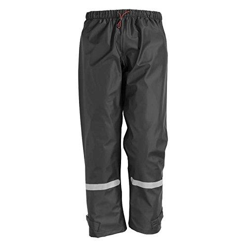 FHB PU-Stretch-Regenjacke, Benjamin, Größe XL, schwarz, 77939-20-XL