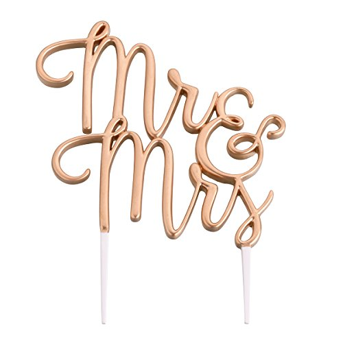 Lillian Rose Gold Mr & Mrs Wedding Cake Topper -$6.74(52% Off)