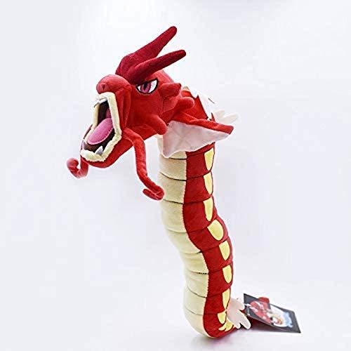 Wjfijz Dragon Plush Toy Doll 60cm Plush Toy Red Gyarados Dragon Soft Plush Carp Evolution Version Plush Doll 60cm
